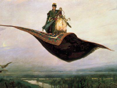 Vasnetsov La alfombra voladora